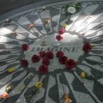 """Central Park John Lennon Memorial """"Imagine"""""""